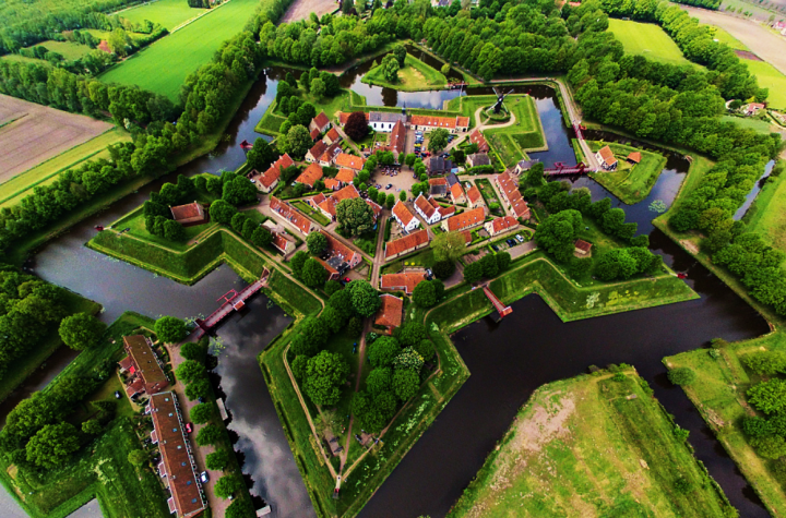 Spectacular fortress Bourtange