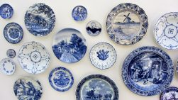 Delftware pottery