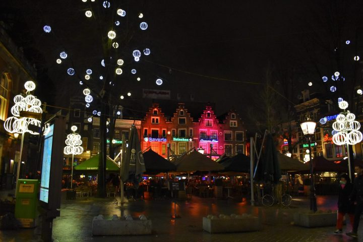 Leidseplein - one of main nightlife areas of Amsterdam