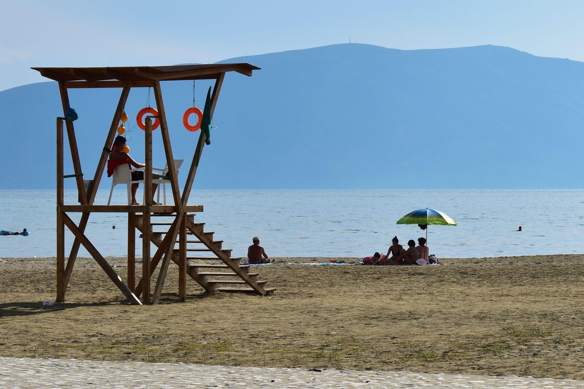 Lifeguard in Vlorë, Albania