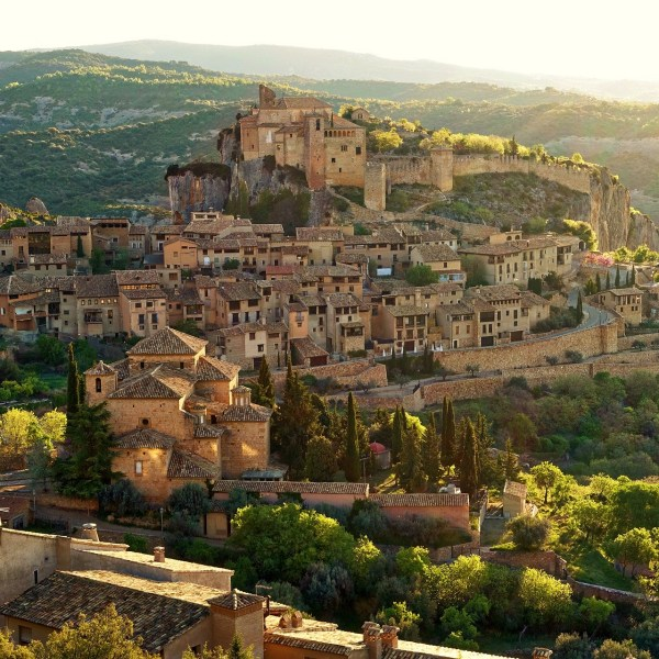 The most romantic towns in Spain - Alquezar, Spain