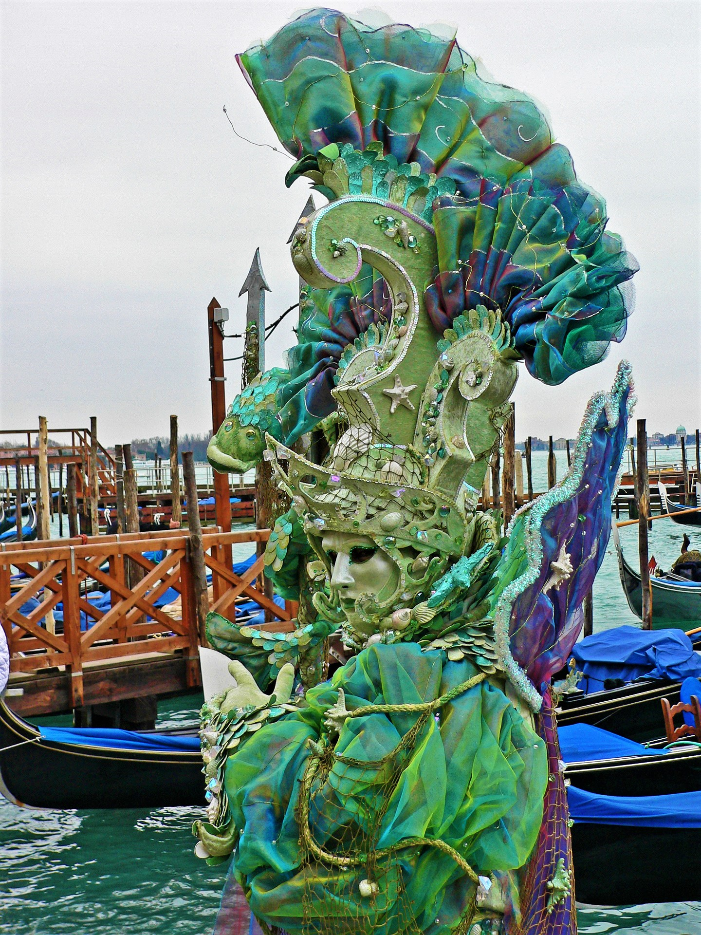 Venetian carnival outfits are true artpieces