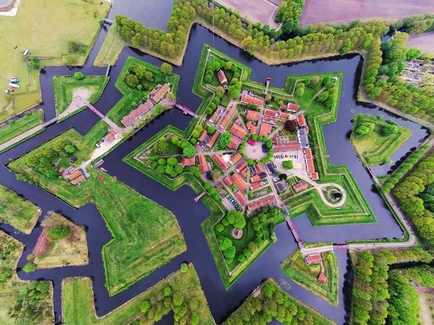 Fantastica ciudad-fortaleza Bourtange