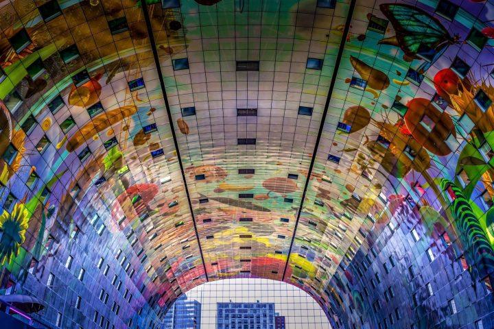 Market Hall en Rotterdam