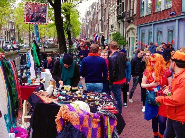 Mercadillos en todas las calles de Ámsterdam
