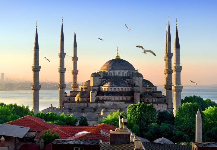 One of the most iconic sights of Istanbul - the Blue Mosque