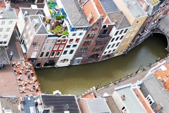 Utrecht desde la Torre del a Iglesia