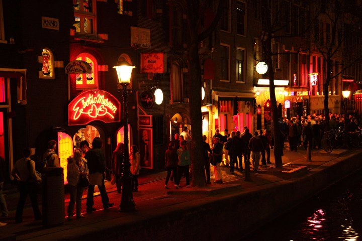 Nightlife in Red Light District