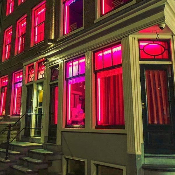 Red lights in Red Light District