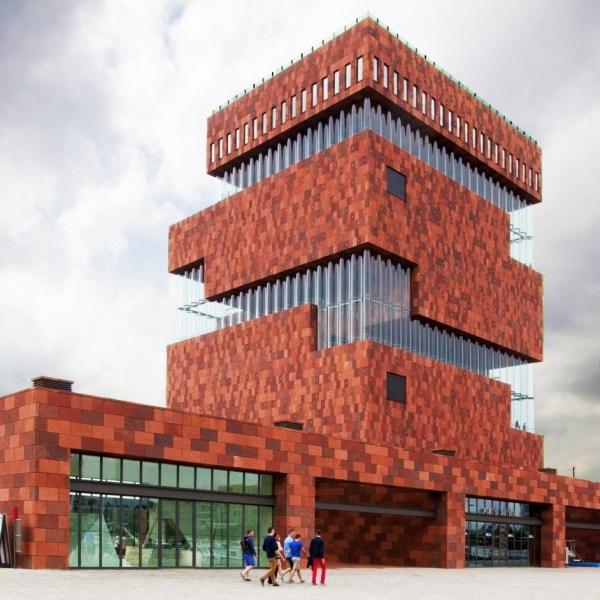 Museum aan de Stroom – MAS in Antwerp, Belgium