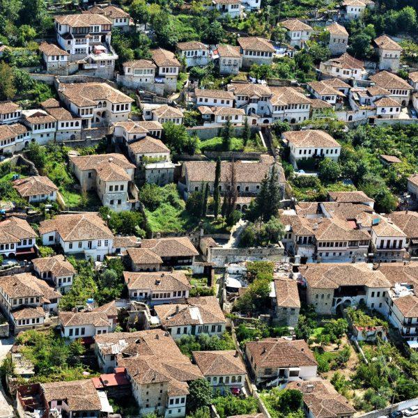 Arquitectura otomana en el Barrio de Berat