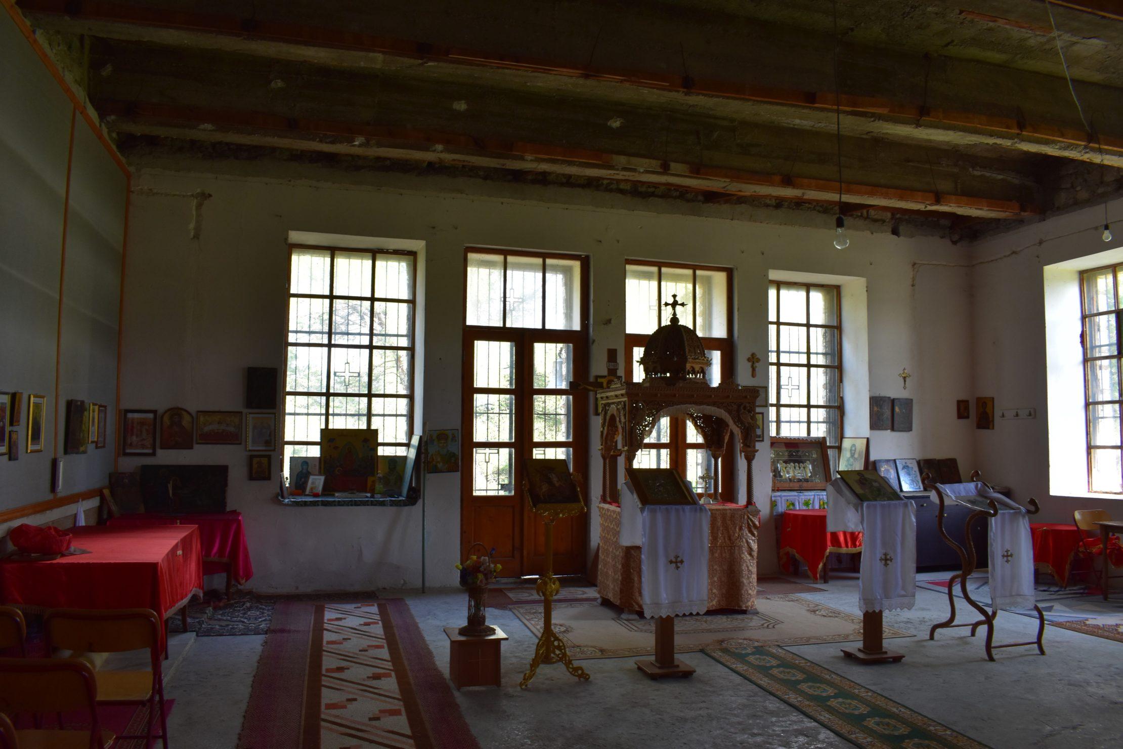 Interior de la Iglesia de San Jorge