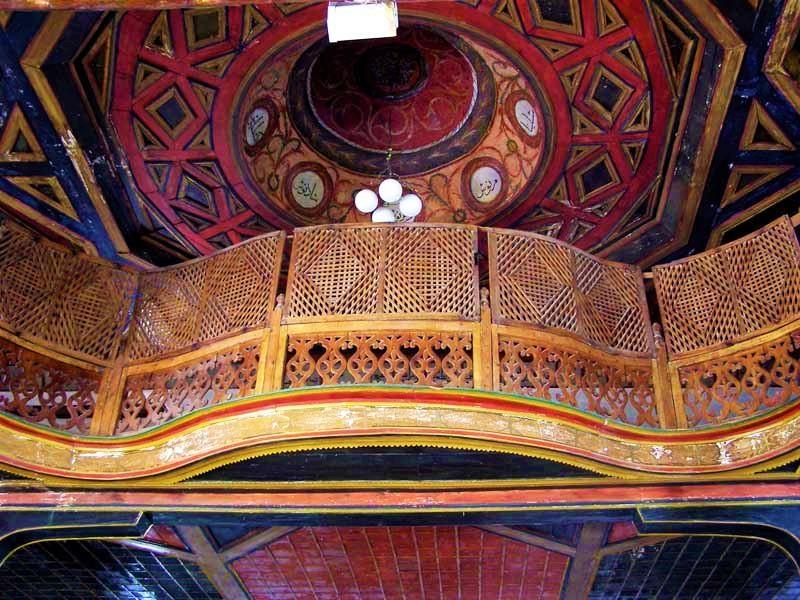 Interior of the King's Mosque in Berat, Albania