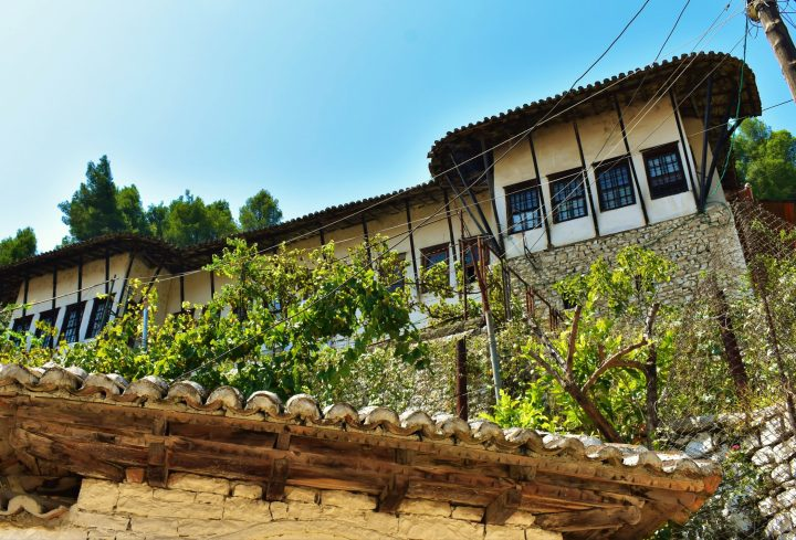 The Ethnographic Museum in Berat located in a traditional Ottoman house