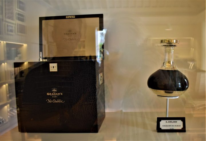 A bottle of port wine worth EUR 8,500