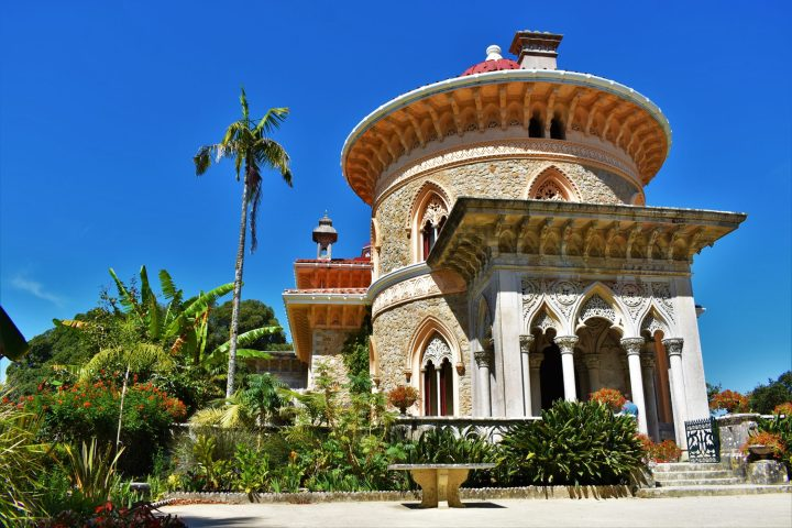 Fascinating luxurious Monserrate Palace