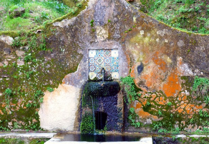 In Sintra the architecture melts into the nature