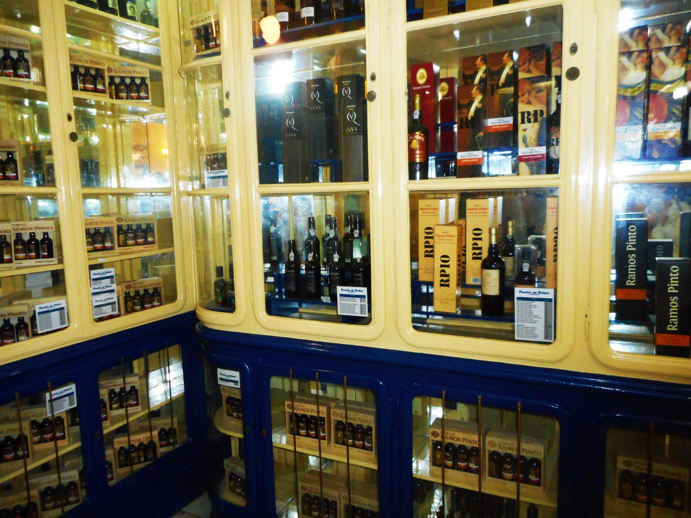 Selección de vinos de Oporto en Lisboa