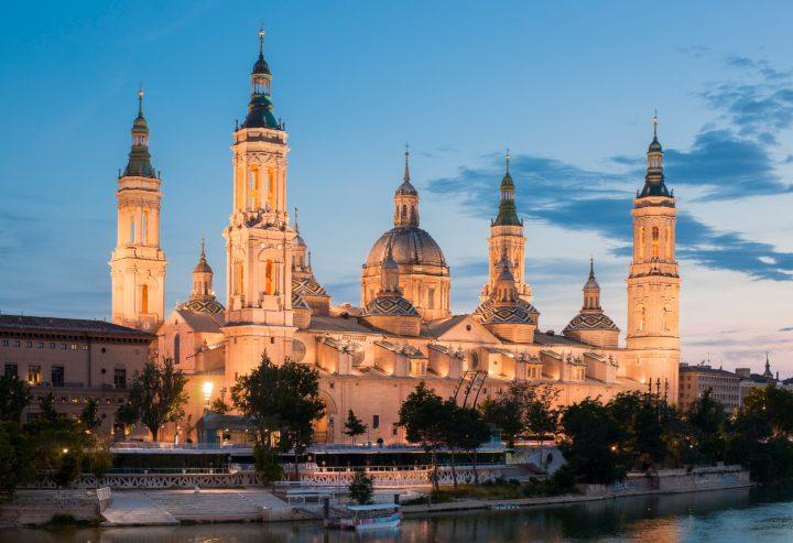 The symbol of Zaragoza - Basilica del Pilar