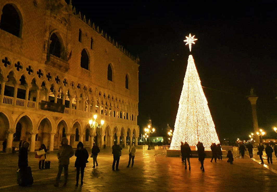 Christmas markets in Venice in Italy