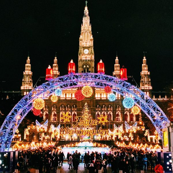 Christmas markets in Vienna in Austria - the most classic Christmas market in Europe