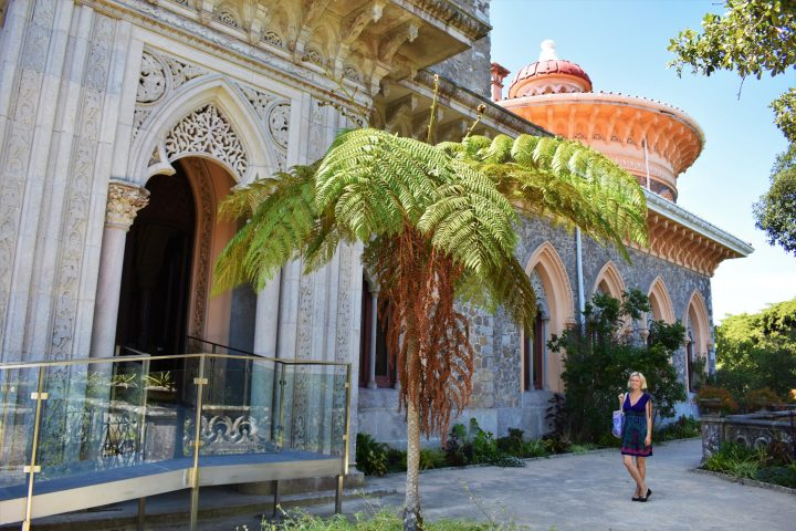 Monserrate Palace is beautiful from every side and angle, Sintra, Portugal