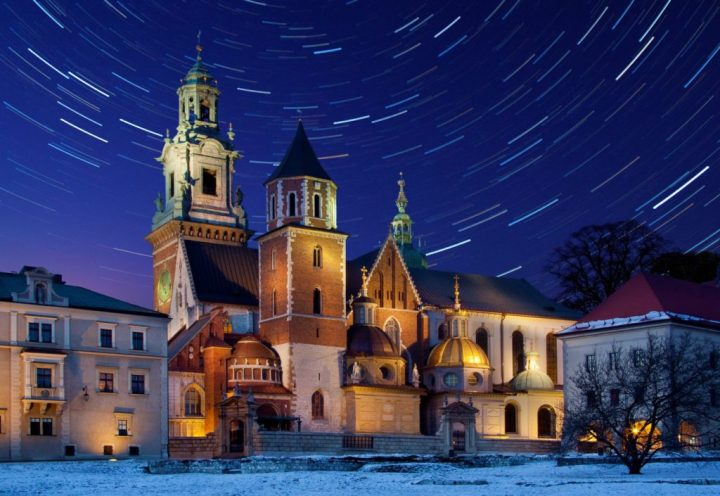 Winter wonderland in Krakow, Poland - one of the most romantic cities in Europe