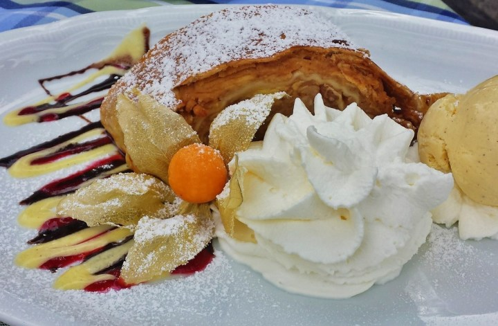 Austrian Apfelstrudel - probably the most famous type of apple pie in the world - Typical Austrian Food