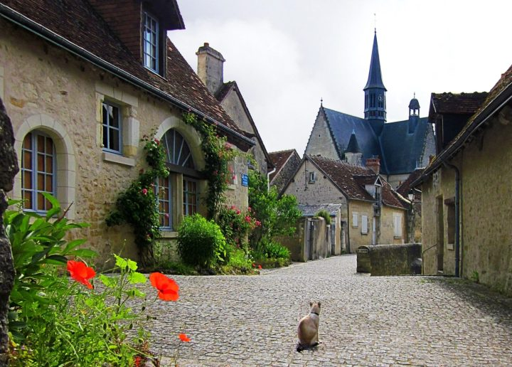 Montrésor in Loire Valley is considered one of the prettiest French villages
