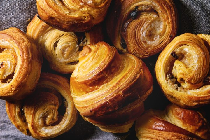 Puff pastry is an actually an Austrian invention - also known as Viennoiserie