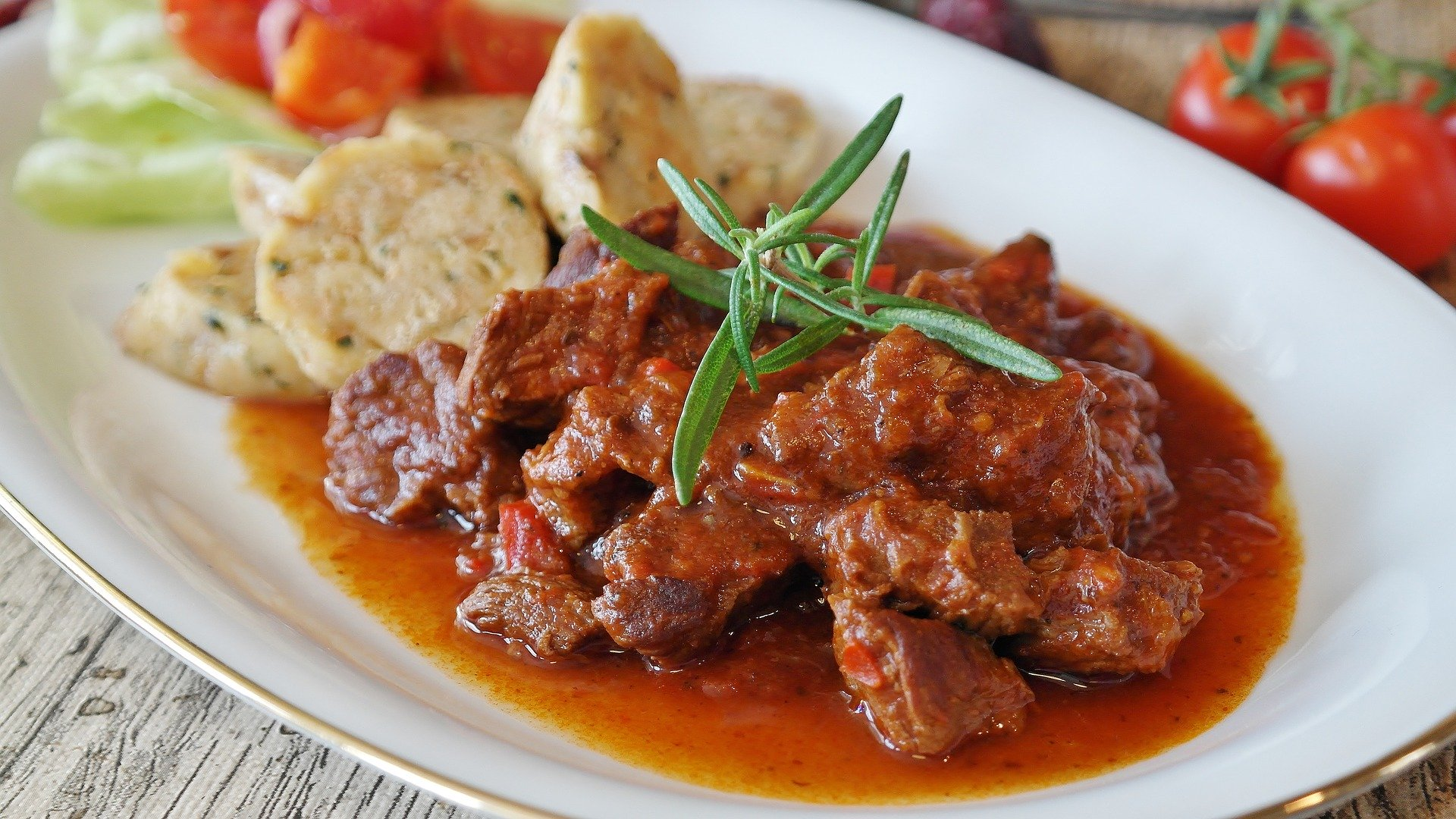 Goulash - Estofado de ternera