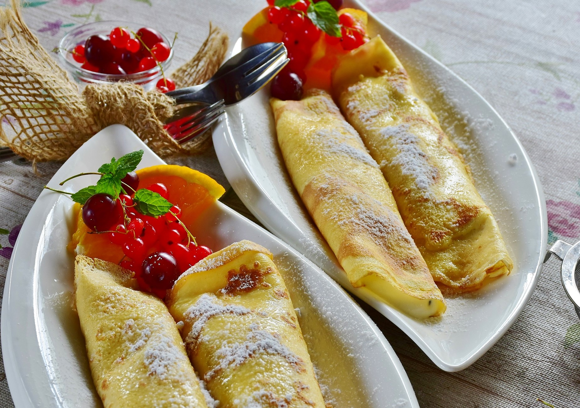 Palačinky crepes Checas