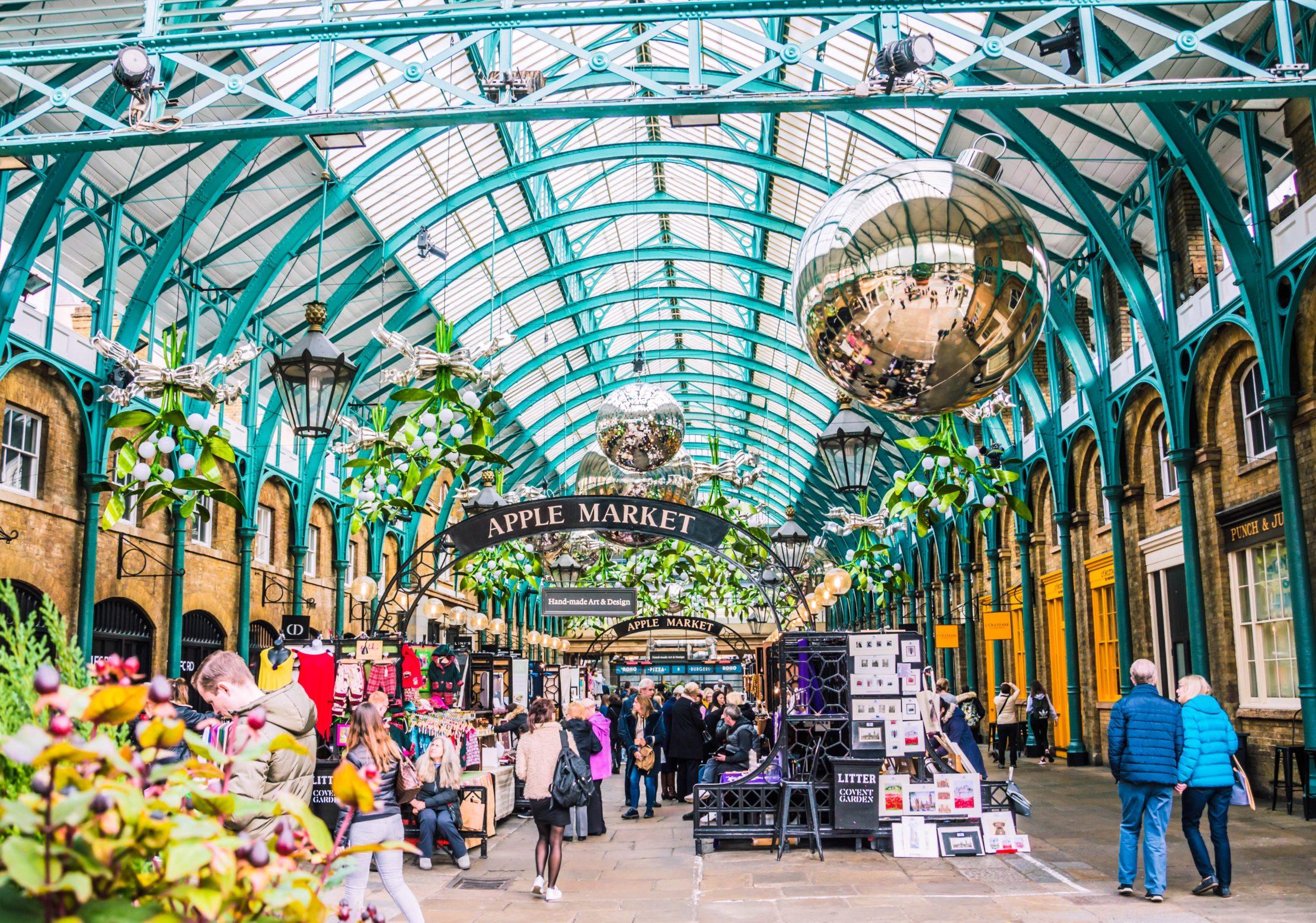 Qué Comprar en Londres, Souvenirs, Regalos Típicos y Baratos - Covent Garden, Londres