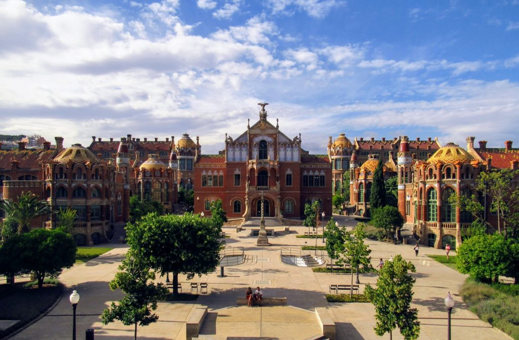 Recinte Modernista de Sant Pau - a fascinating art nouveau complex in Barcelona