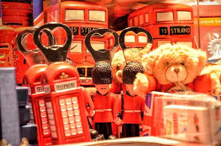Souvenirs tipicos de Londres