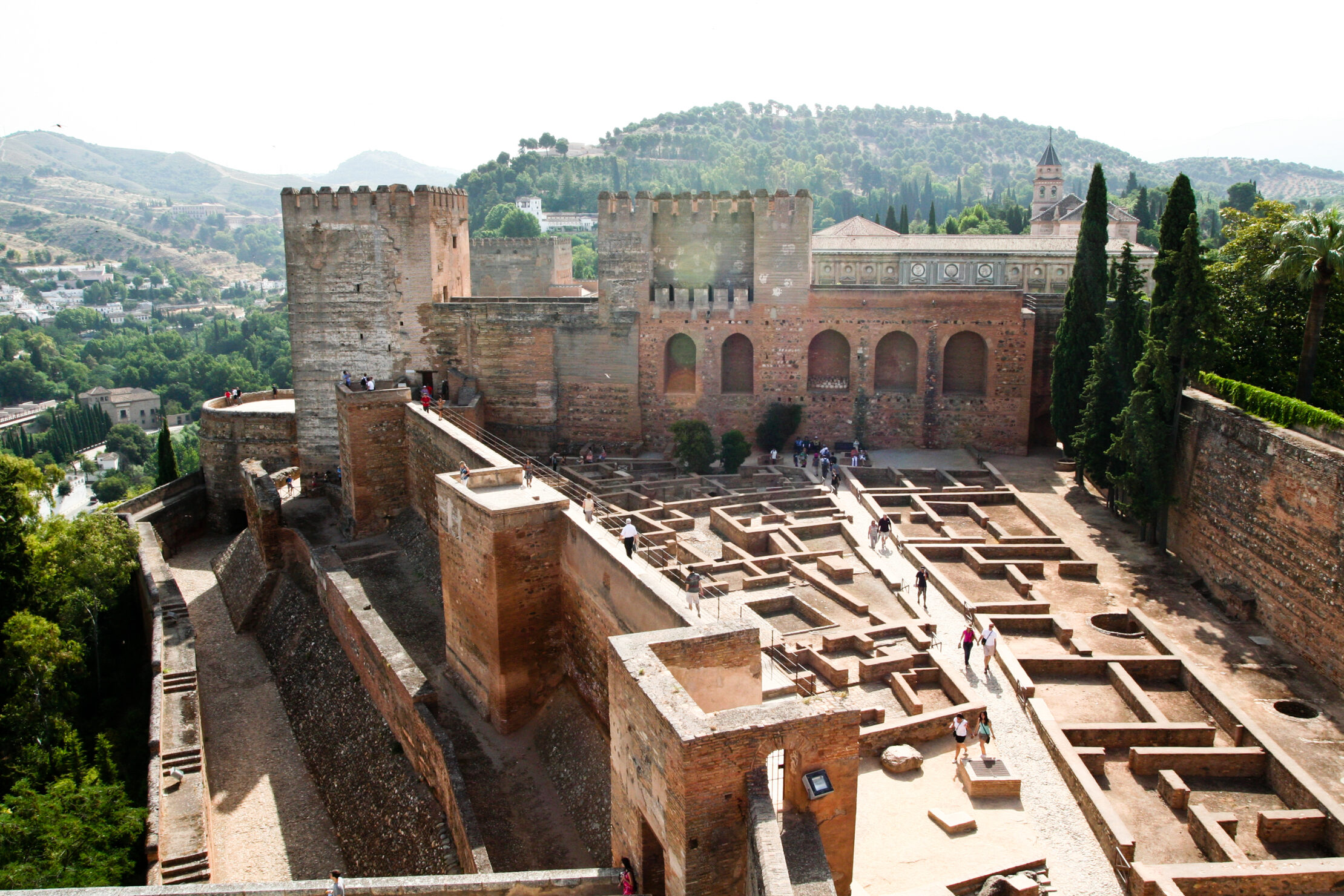 The Alcazaba of the Alhambra