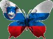 Slovénia-papillon