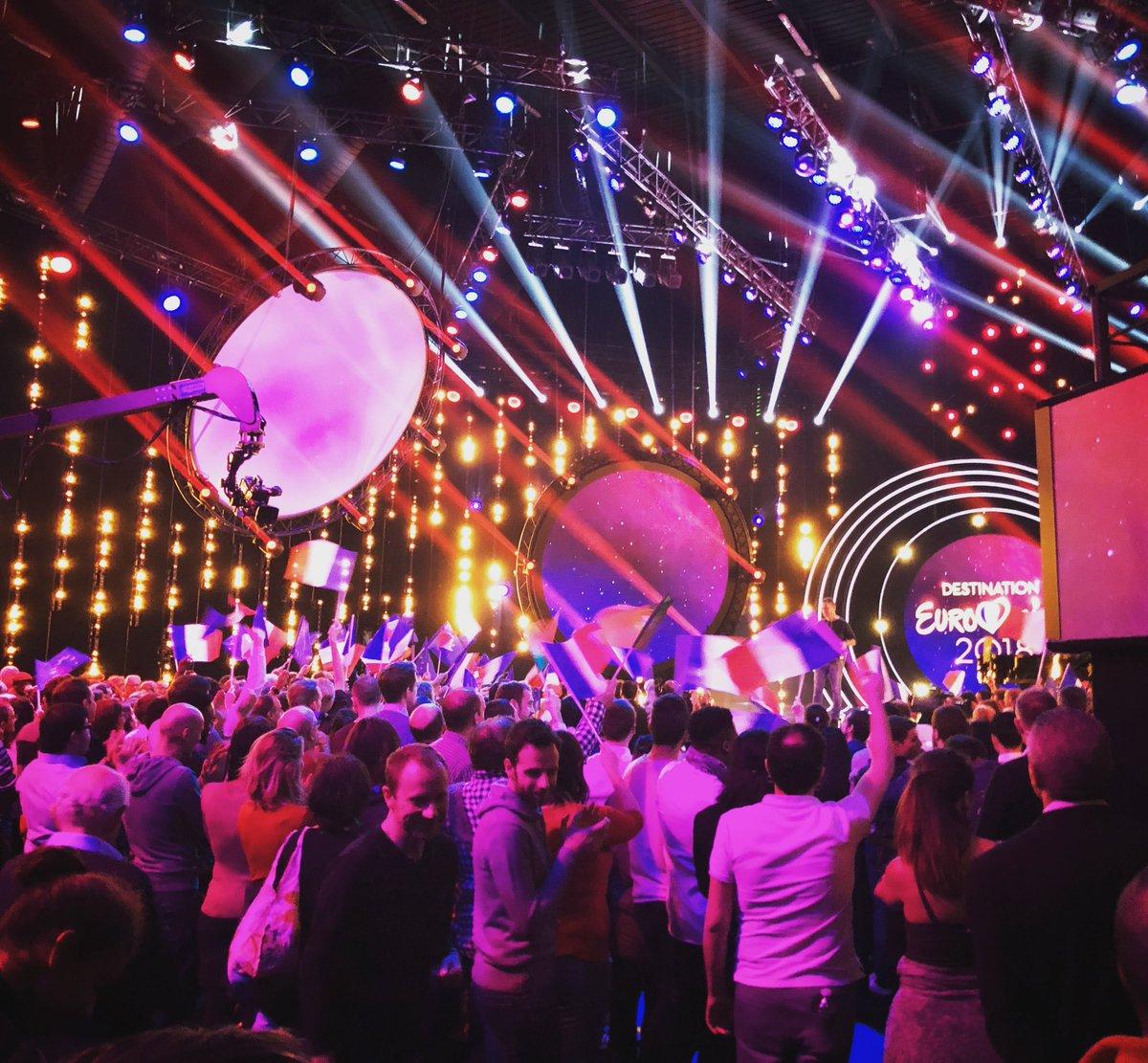 destination eurovision 2018 enregistrement de la deuxi me demi finale l 39 eurovision au quotidien. Black Bedroom Furniture Sets. Home Design Ideas
