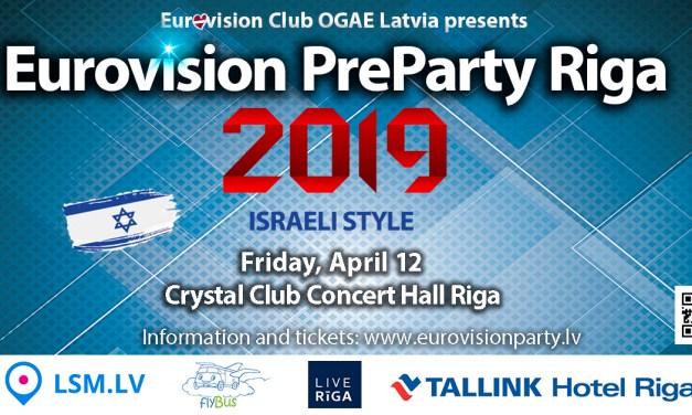 Eurovision PreParty Riga 2019 : analyse et sondage
