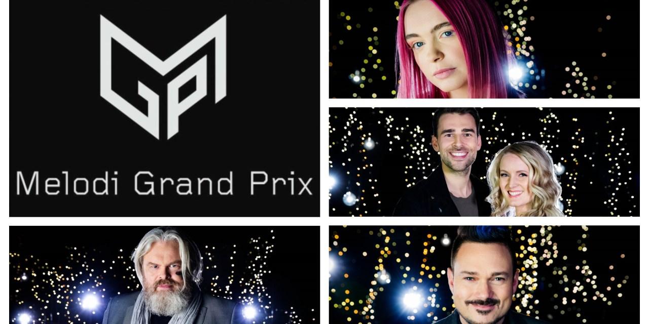 Melodi Grand Prix 2020 : présentation de 4 nouveaux demi-finalistes