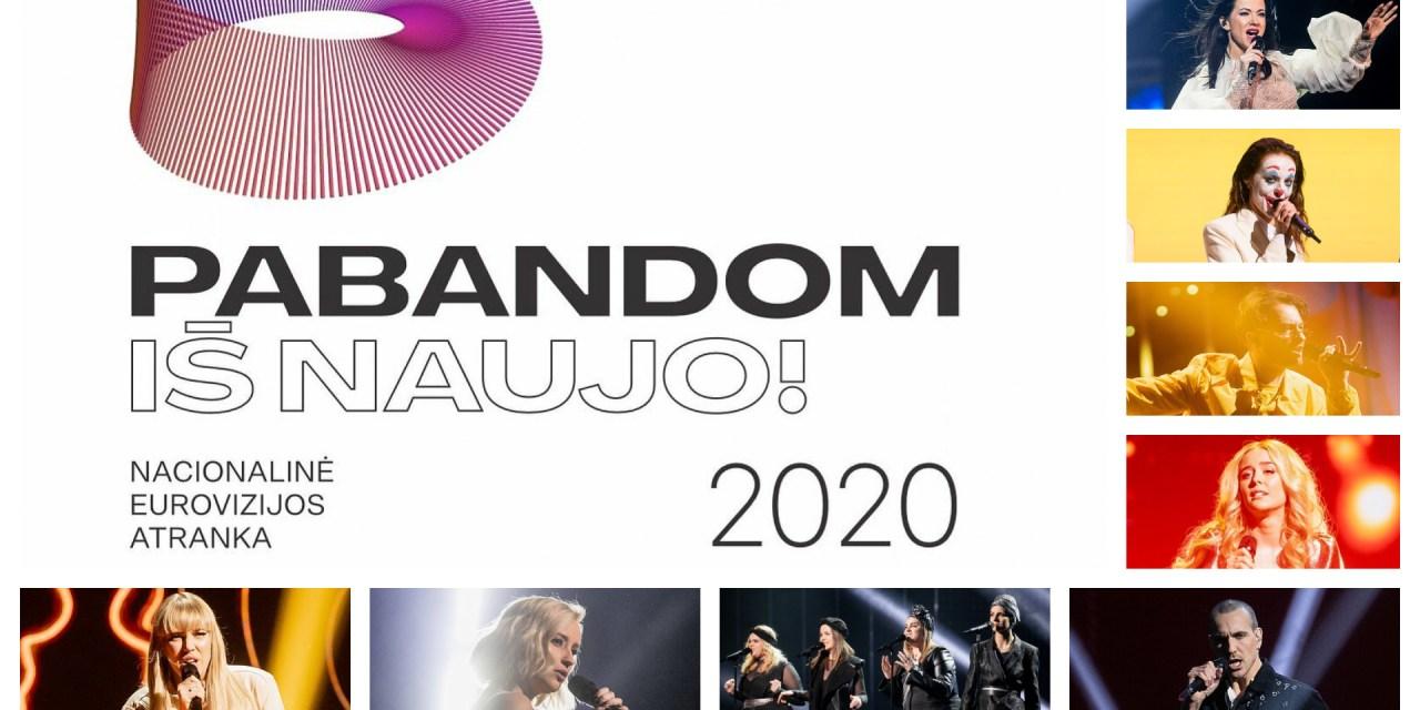 Ce soir : finale de l'Eurovizijos atranka (Mise à jour : résultats)