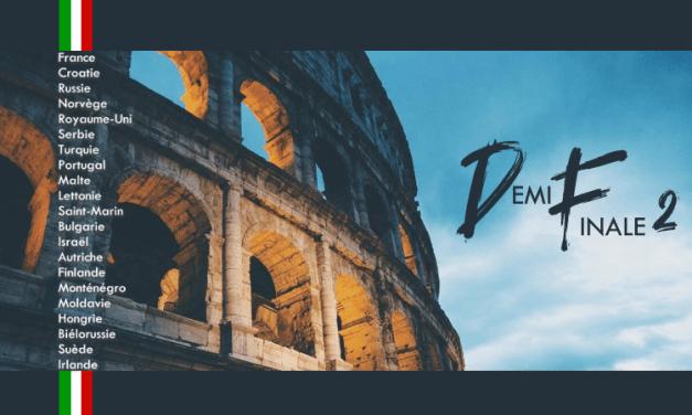 Quorovision 2020 : 2ème Demi-Finale