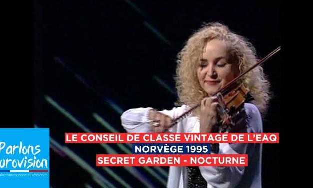 Le conseil de classe vintage : Norvège 1995