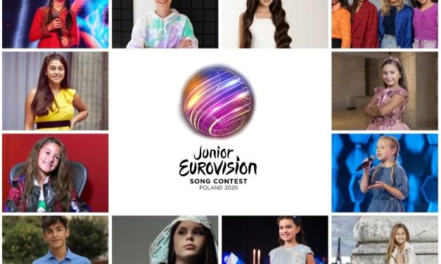 Eurovision Junior 2020 : sondage