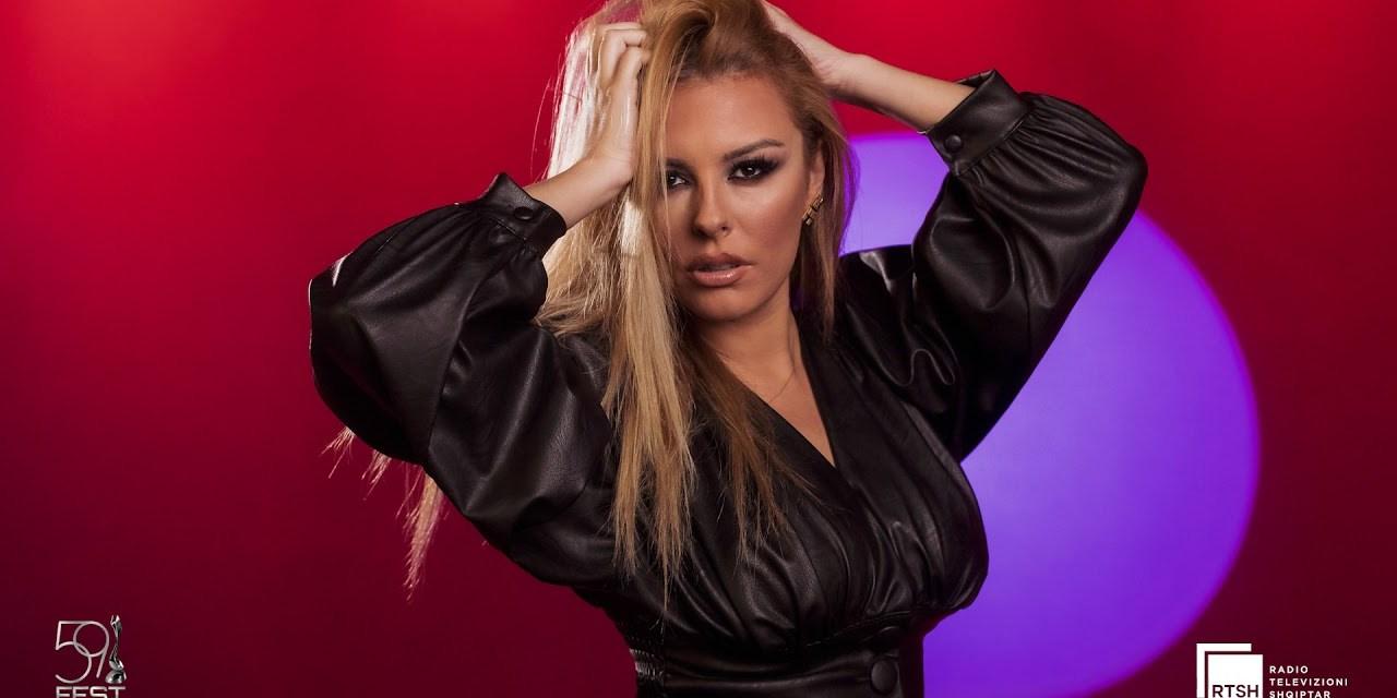 Albanie 2021 : Anxhela Peristeri pour Rotterdam !
