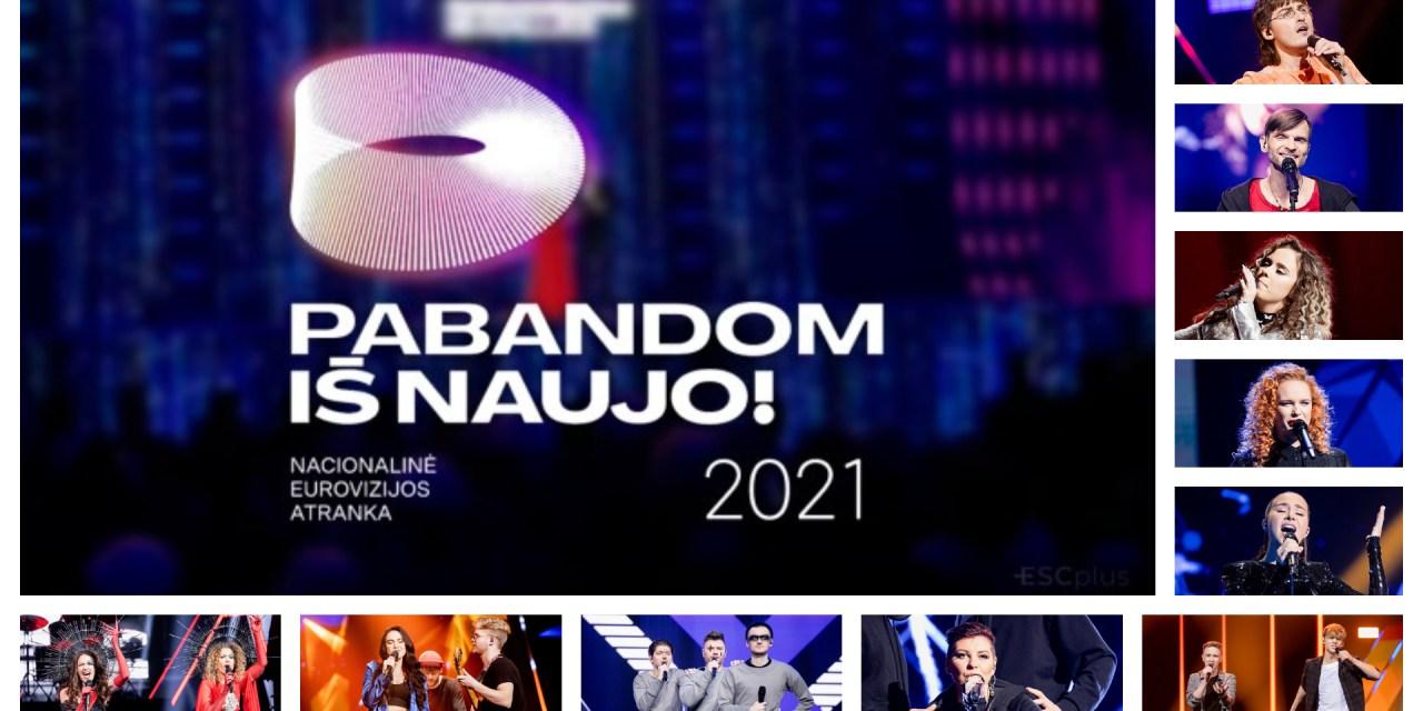 Eurovizijos atranka 2021 : présentation des participants #1