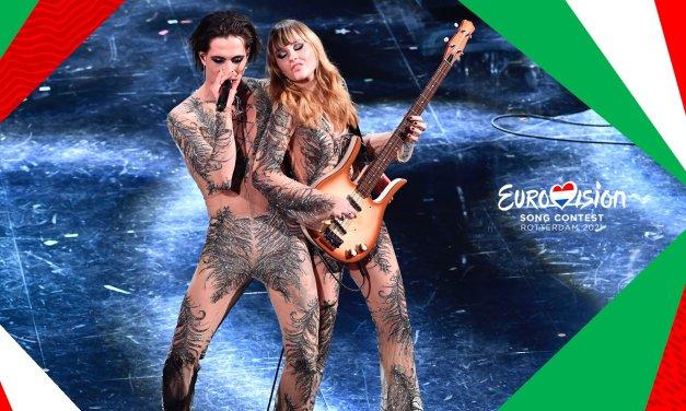 Italie 2021 : Måneskin pour Rotterdam !