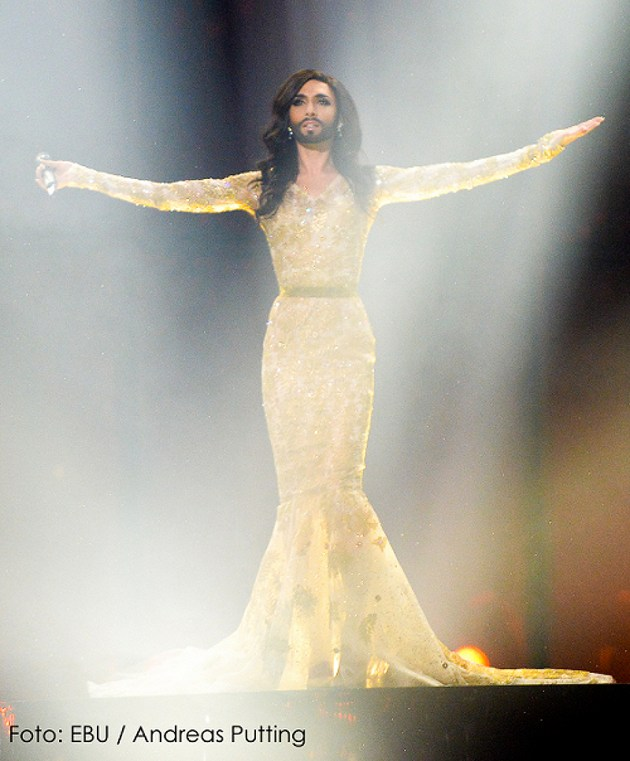 conchita live EBU Putting