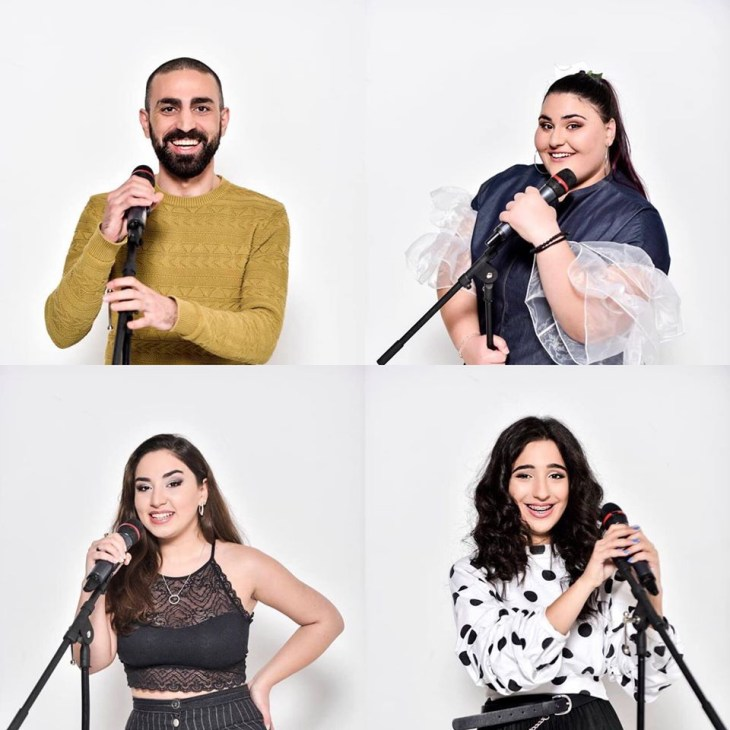 Georgian Idol Finalists