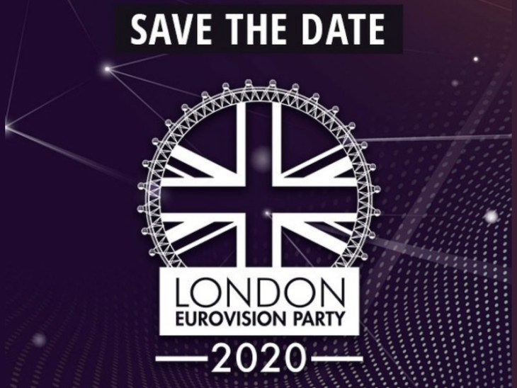 London Eurovision 2020 logo